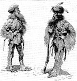 Mountain Man and Cowboy outfits